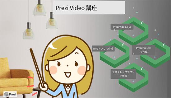 Prezi Videoのイメージ